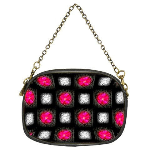 Suga Lane Black Pink Bling Evening Bag