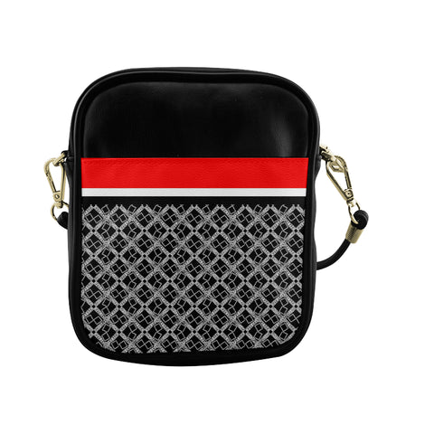 Stripe Logissimo Sling Crossbody Bag