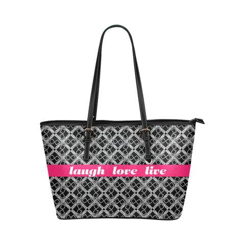 Laugh Logissimo Jane Leather Tote Bag