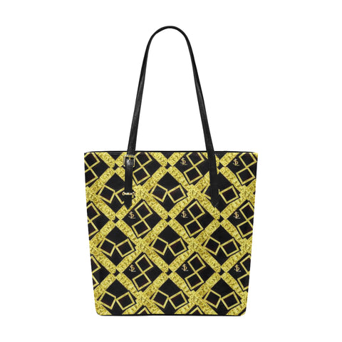 SL Gold Logissimo Classic Leather Tote Bag
