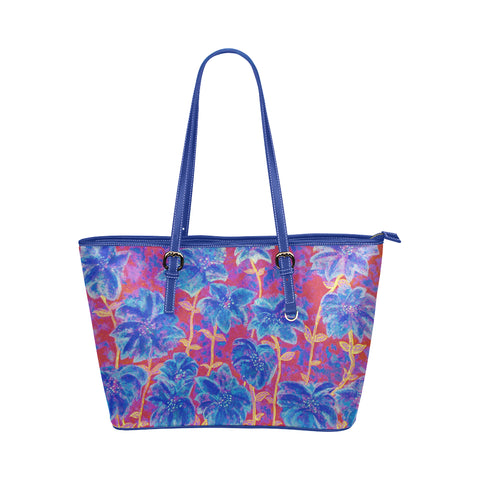 Fireworks Jane Leather Tote Bag