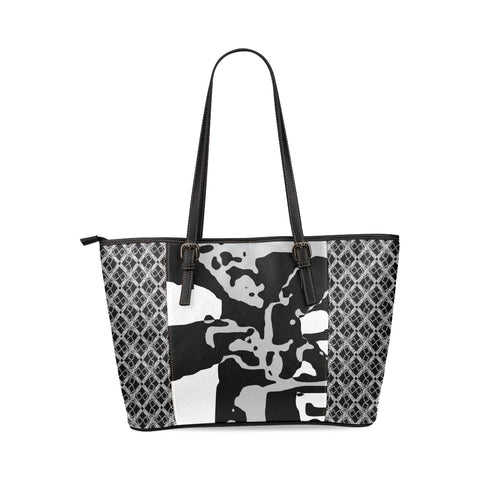 Logissimo Paradiso Alba Leather Tote Bag