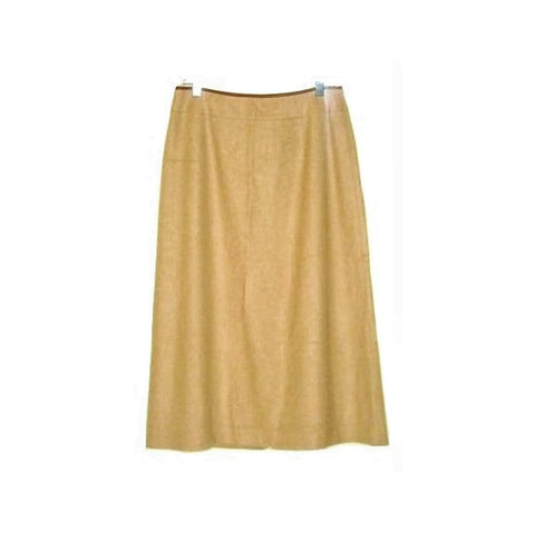 Talbots Tan Camel Hair Skirt 100% Pure Camel Hair 10p