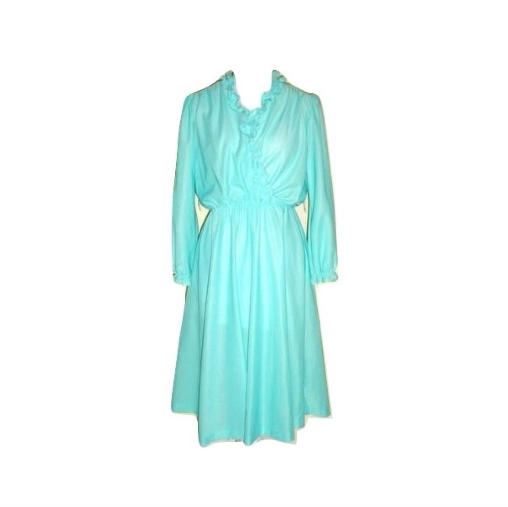 Vintage Anthony Richards  Light Teal Cocktail Brunch Medium 8 10