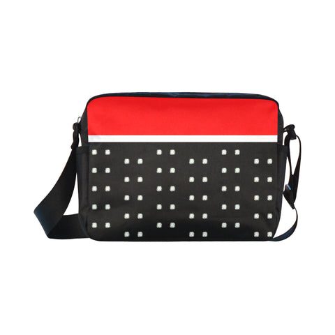Polka Stripe Flex Crossbody Bag