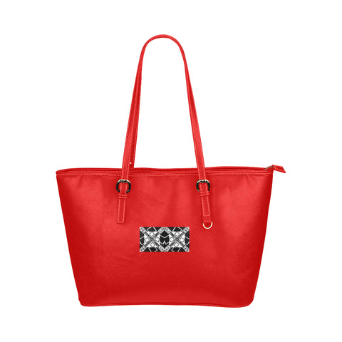 VIP Logo Jane Leather Tote Bag