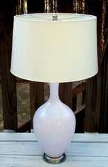[SOLD] Restoration Hardware Robert Abbey Glam Pink Lamp