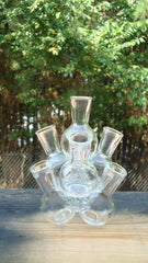 [SOLD] Mid-Century Modern Glass Bottle Sculpture