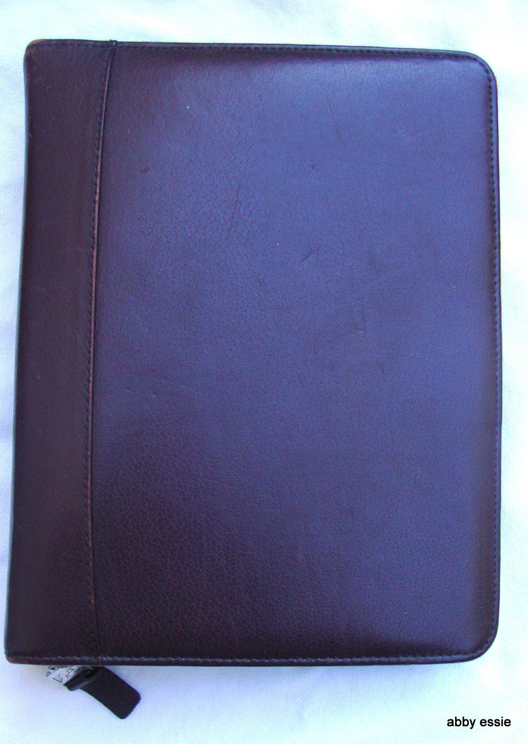 [SOLD] FRANKLIN COVEY PLANNER  BROWN LEATHER WITH ADDRESS DREAM MANAGEMENT PLANNER GUID