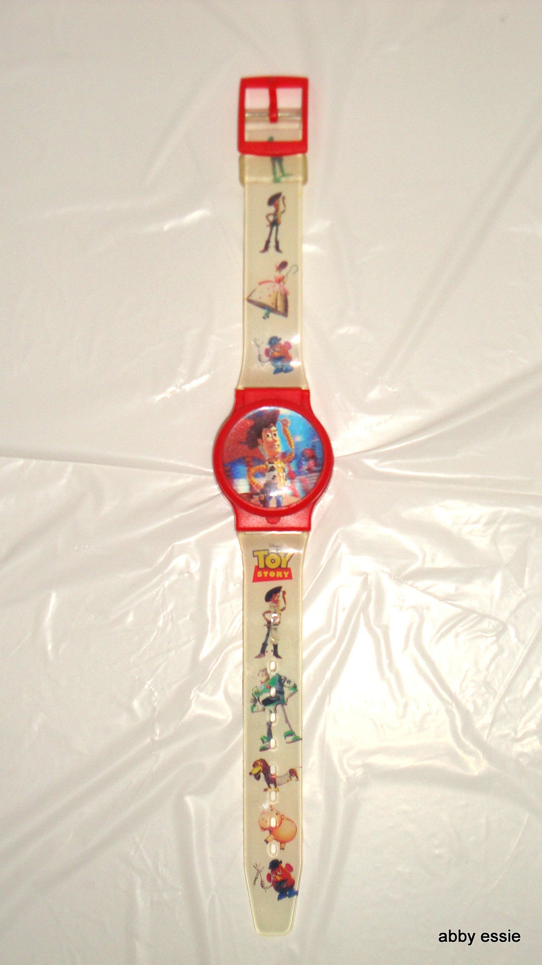 VINTAGE COLLECTIBLE TOY STORY WOODY WATCH
