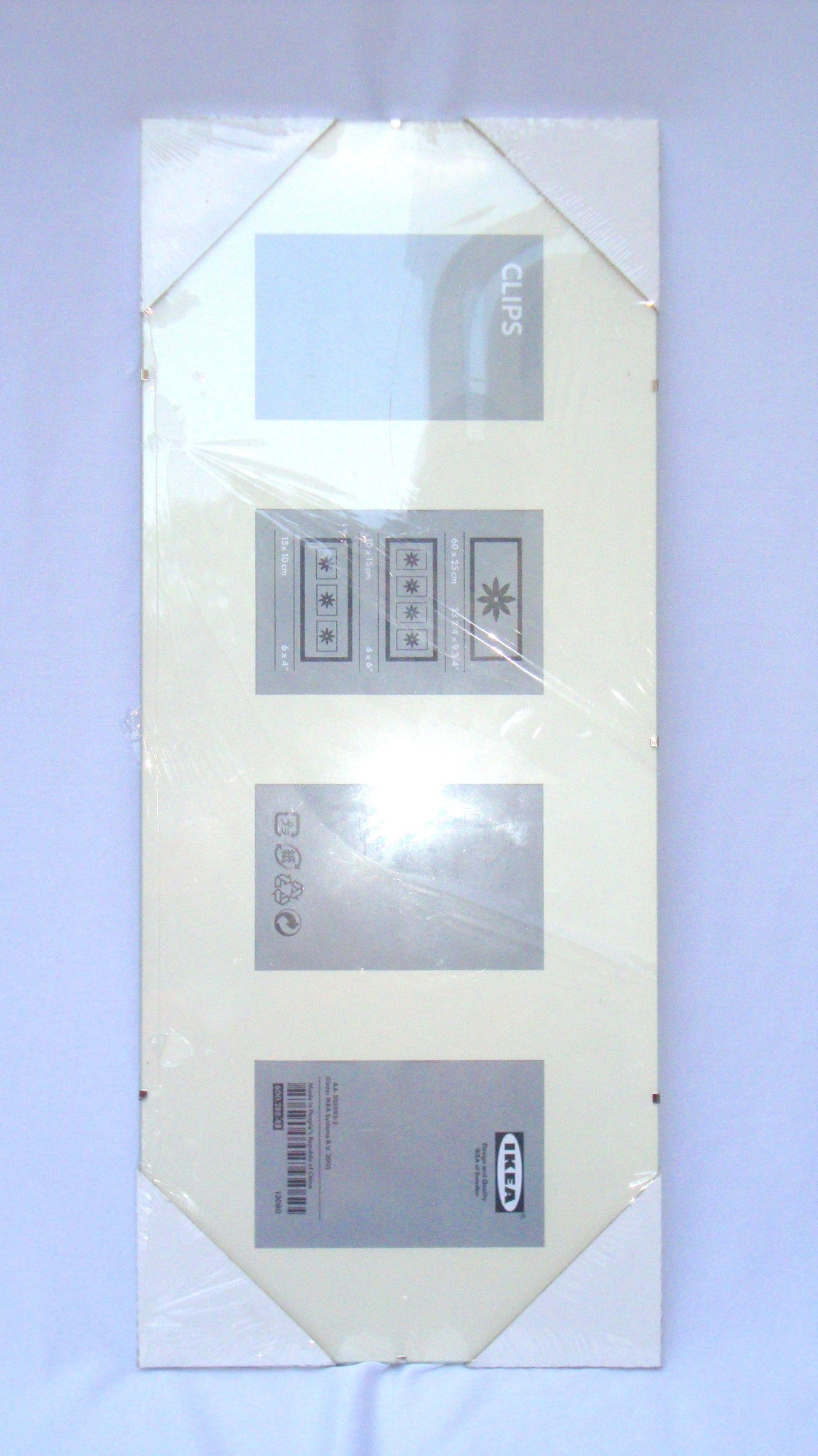 [SOLD] Ikea Modern Clear Acrylic Glass Picture Photo Frame