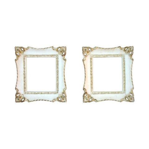 [SOLD] Vintage French Rococo Gilt Picture Frames - Pair of 2