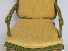 Antique French Louis Fauteuils Chairs - Pair