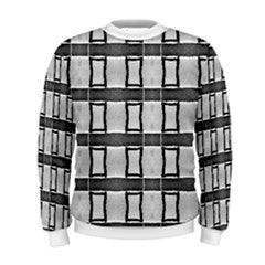 S.Lane Men Boxed Up Sweatshirt [Gray Black No.2 ]