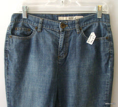 DKNY JEANS SOHO BEACH WASH BLUE DENIM SZ 4 JEANS