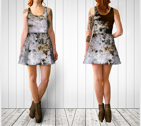 Suga Lane Wise Oak Tree II Original Art Dress