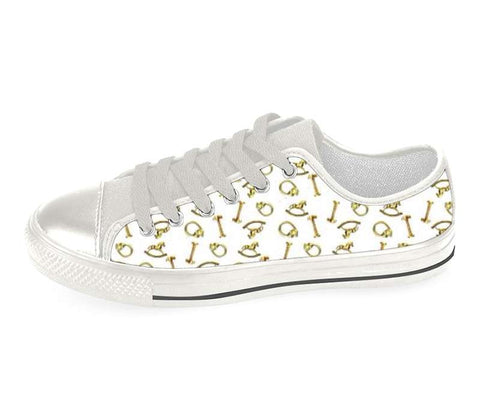 Suga Lane Brass Treasures Low Top Sneakers
