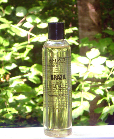ANISSEI NATURALS BRAZIL MASSAGE & TANNING OIL 8oz