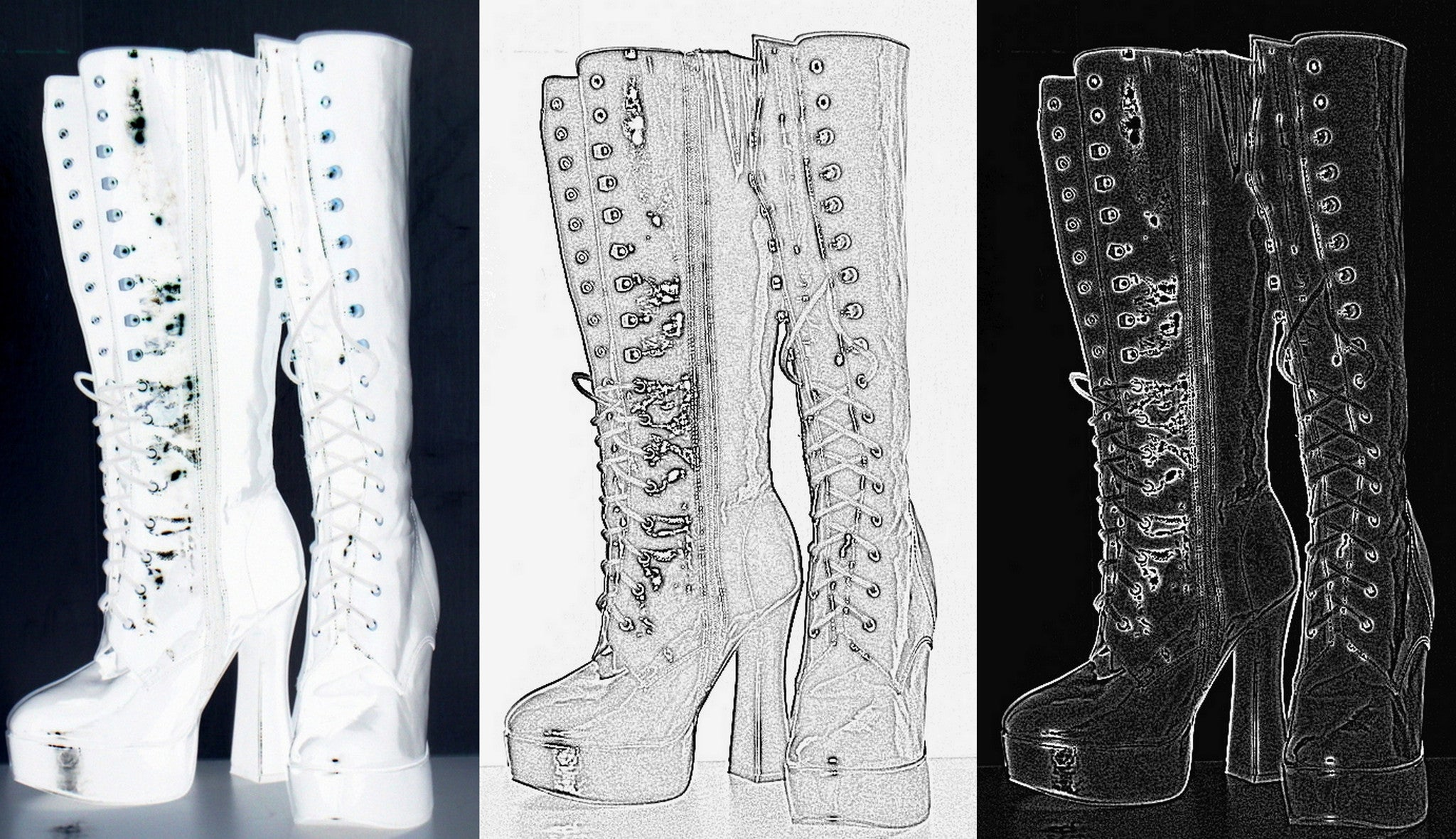 Goth Boots #1 [Limited Edition 2/10]