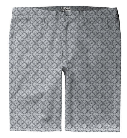 S. Lane Men Logissimo Trouser Shorts - Gray