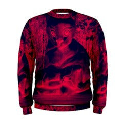 S. Lane Scary Cat Sweatshirt - Red Black