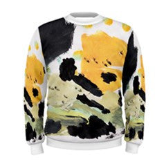 S. Lane Men Blackish Abstract Sweatshirt
