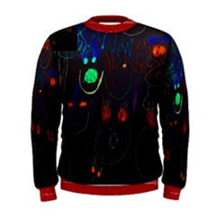 S. Lane Scary Smiley Face Sweatshirt - Black Red