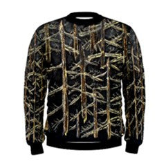 S. Lane Men Golden Forest Sweatshirt - Black Yellow