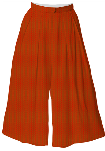 Suga Lane Burnt Orange Exes Culottes
