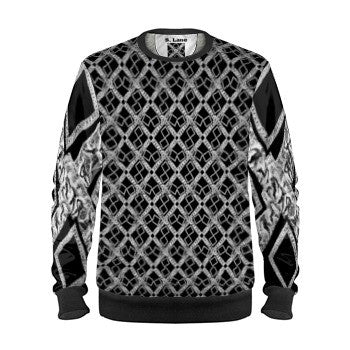 S. Lane Signature Logissimo Sweatshirt - Mens Black Silver