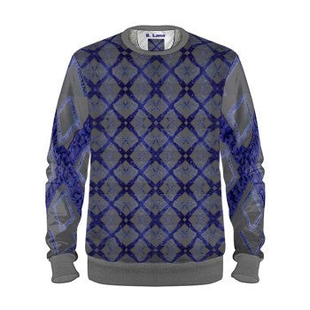 S. Lane Signature Logissimo Sweatshirt - navy blue