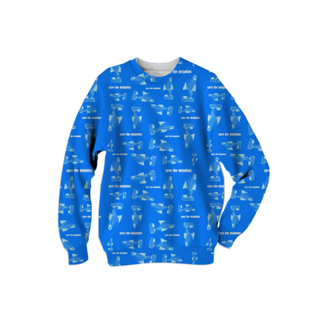 save the dolphins sweatshirt