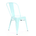 Design Lab MN LS-9000-MTLPEP Dreux Mint Green Dining Chair Set of 4