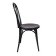 Design Lab MN LS-9902-BLK Belmont Matte Black Dining Chair Set of 2