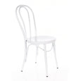 Design Lab MN LS-9902-WHT Belmont White Dining Chair Set of 2