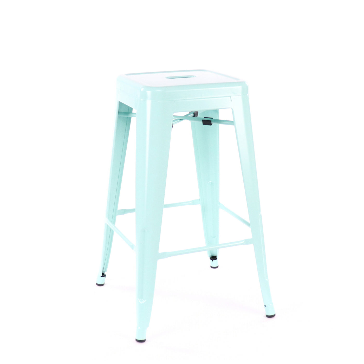 Design Lab MN LS-9102-MTLPEP Dreux Mint Green Counter Stool Set of 4