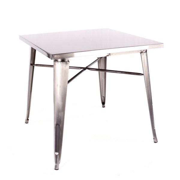 Design Lab MN LS-9120-GUN Dreux Gunmetal Dining Table