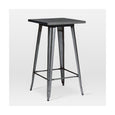 Design Lab MN LS-9110-DGUN Dreux Dark Gunmetal Bar Table
