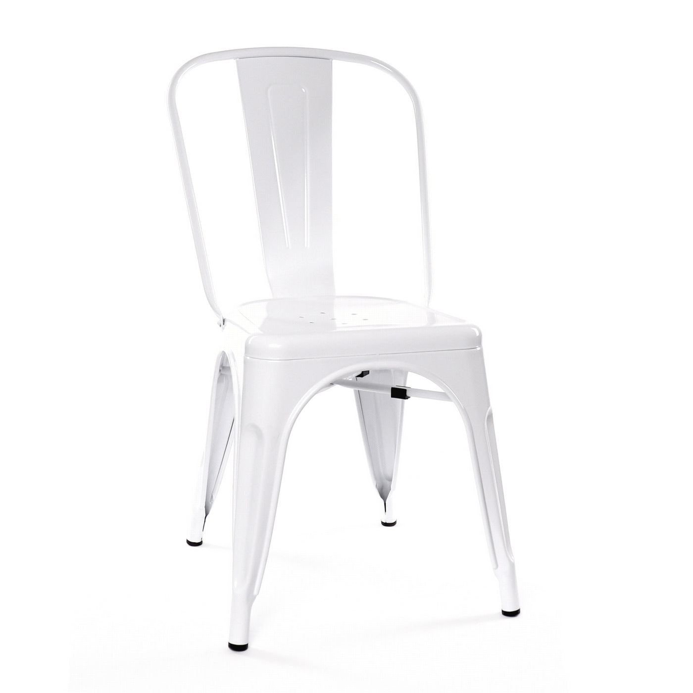 Design Lab MN LS-9000-WHT Dreux White Dining Chair Set of 4