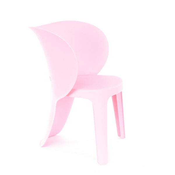 Design Lab MN LS-9606-PNK Elephant Baby Pink Kids Chair Set of 4
