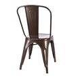 Design Lab MN LS-9000-RMT Dreux Rustic Dining Chair Set of 4