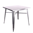 Design Lab MN LS-9120-DGUN Dreux Dark Gunmetal Dining Table