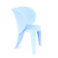 Design Lab MN LS-9606-LBLU Elephant Baby Blue Kids Chair Set of 4