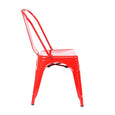 Design Lab MN LS-9000-RED Dreux Red Dining Chair Set of 4