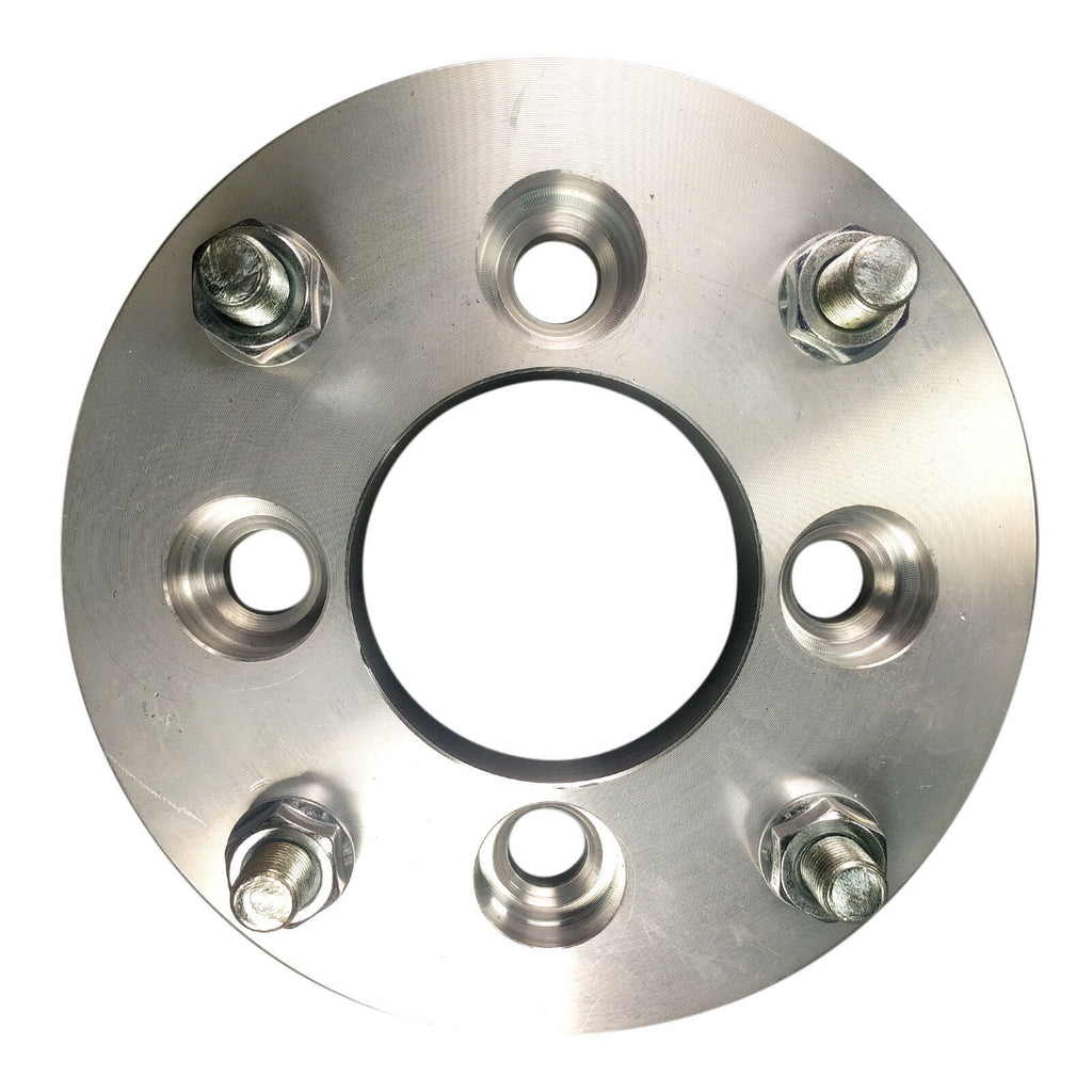 "5x4.25 to 5x4.75 / 5x108 to 5x120.7 Hubcentric Wheel Adapters 1"" Thick 12x1.5 x4"