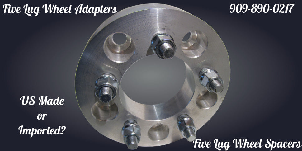 five lug wheel adapters