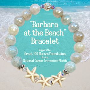 "Introducing ""Barbara at the Beach"" ~ 2021's Jewelry for a Cause"