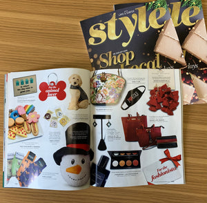 How exciting!  We made the Style magazine Gift Guide!!!