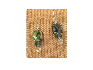 Abalone Earrings (Available in Sterling and Copper)