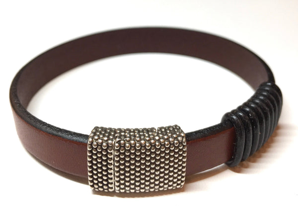 Counter Brocelets (Available in 3 different leather colors and 3 different clasps)